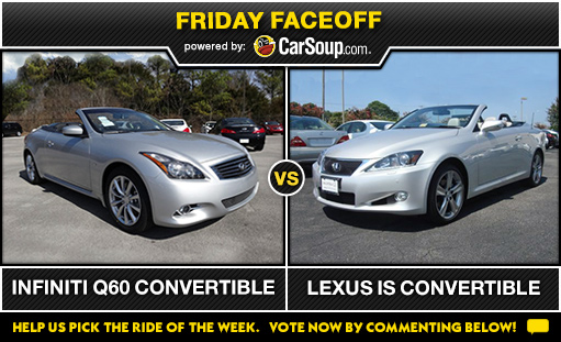 Friday Face-Off: August 15, 2014
