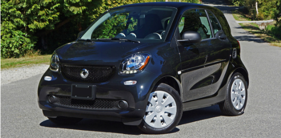 2016 Smart Fortwo Coupe Pure