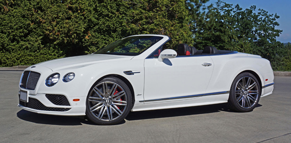 2016 Bentley Continental GT Convertible Speed