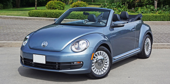 2016 Volkswagen Beetle Convertible Denim Review