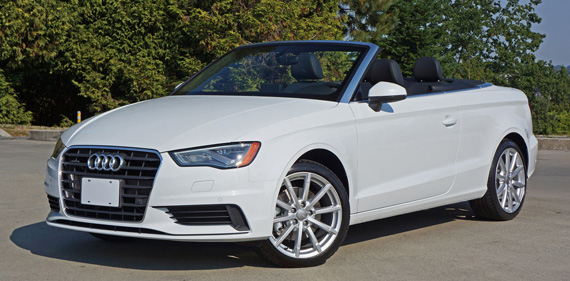 2016 Audi A3 2.0 TFSI Cabriolet Review