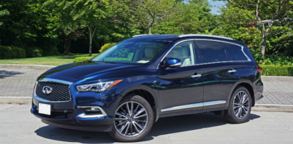 2016 Infiniti QX60 3.5 AWD Deluxe Technology