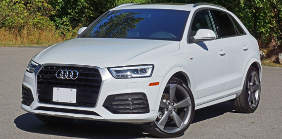 2016 Audi Q3 Shows New Face of Audi SUVs