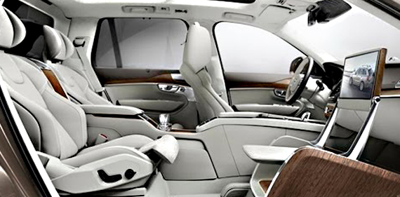Volvo Launches Ultra-Lux 3-Seater