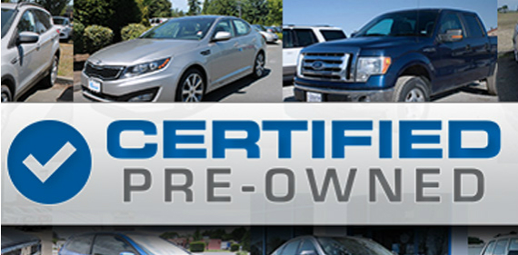 New to You -- Certified Used Vehicles Deliver a Like-New Experience