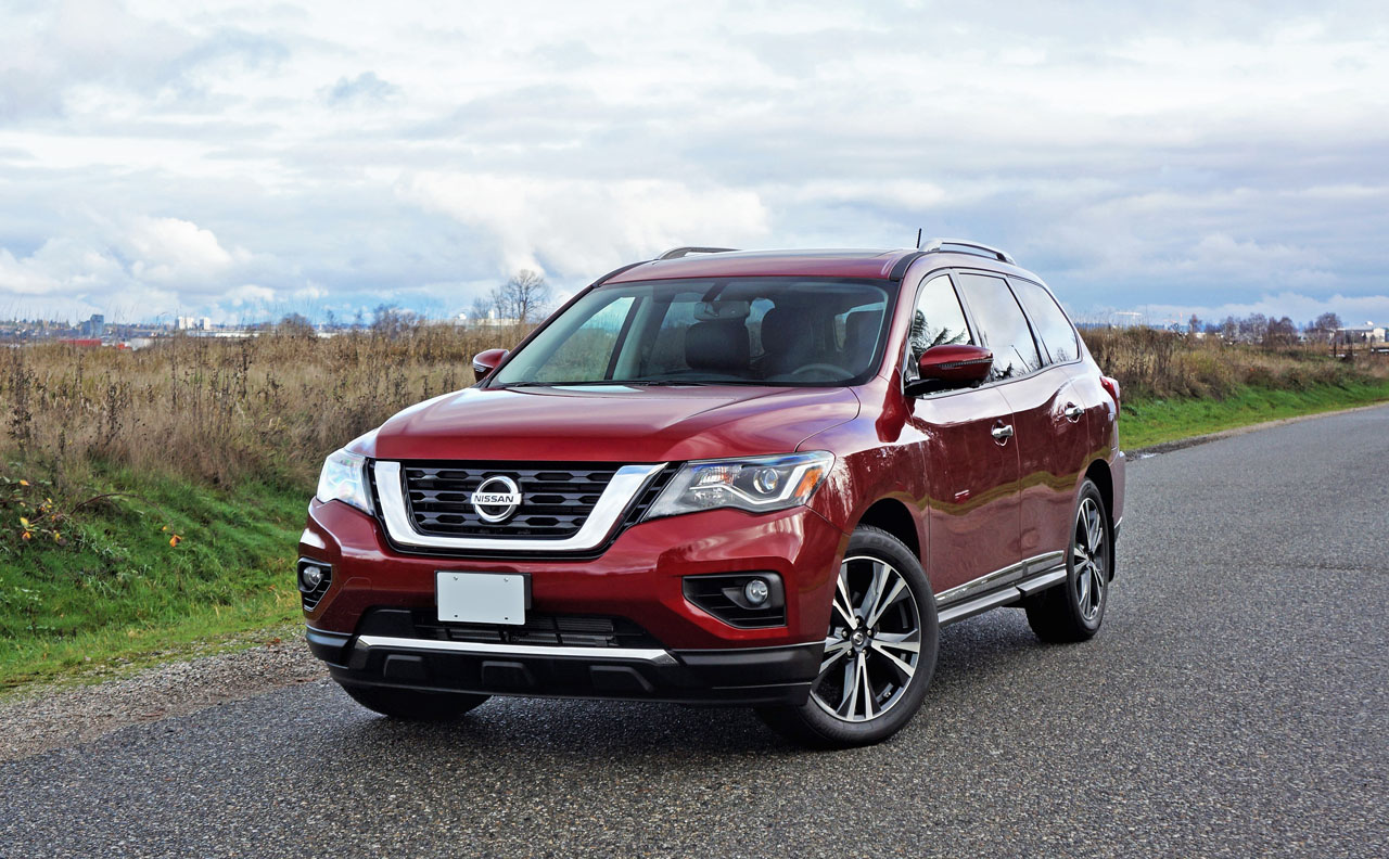CarSoup Car Closeups: 2018 Nissan Pathfinder