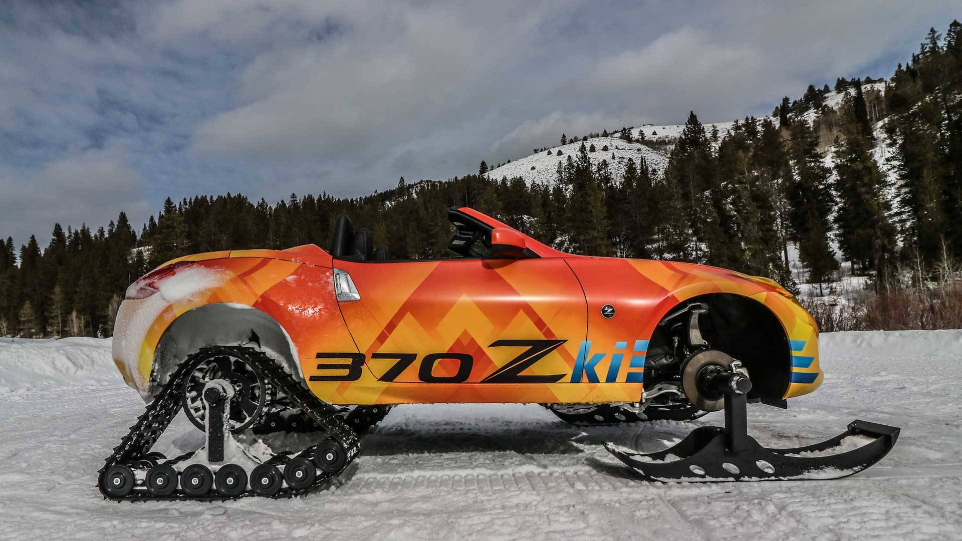 "A Nissan ""Z"" Snowmobile? Heck Yeah!"
