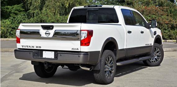 2018 Nissan Titan Xd Crew Cab Platinum Reserve Diesel 4x4