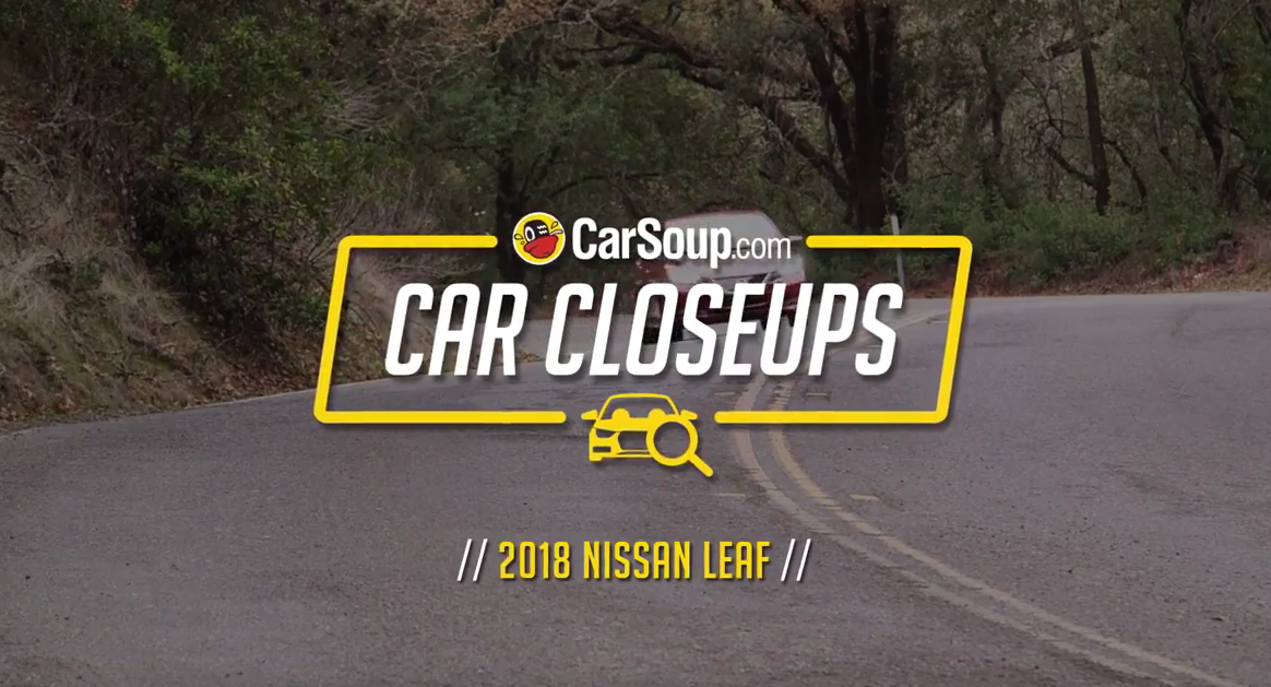 CarSoup Car Closeups: 2018 Nissan Leaf