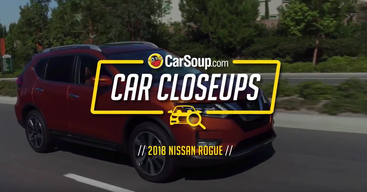 CarSoup Car Closeups: 2018 Nissan Rogue