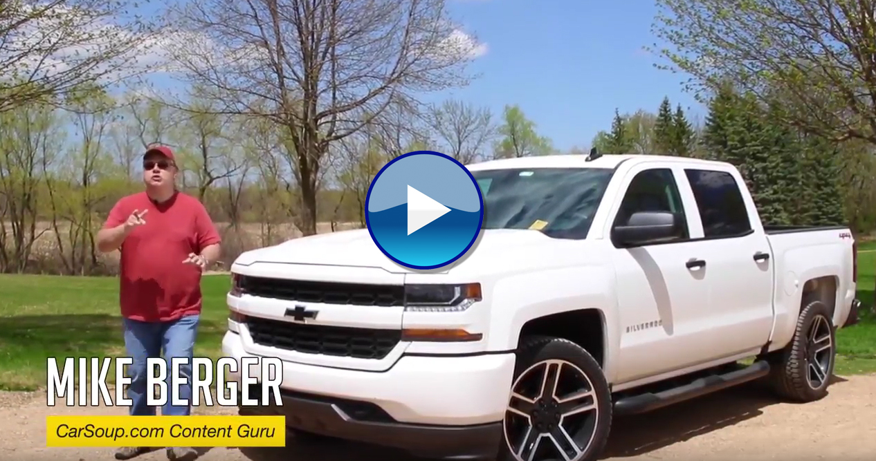 CarSoup Car Closeups: 2018 Chevy Silverado 1500