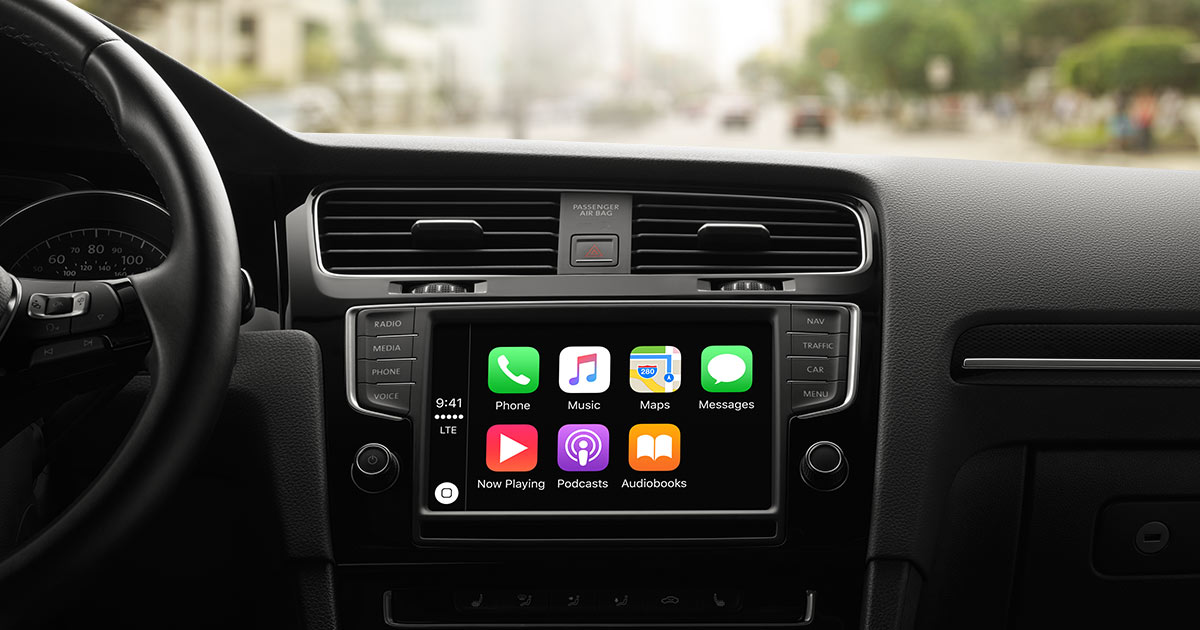 Have you considered Apple Car Play?
