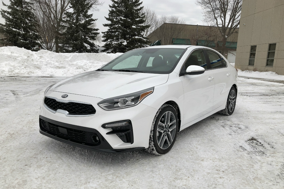 2019 Hyundai Elantra Kia Forte Comparison
