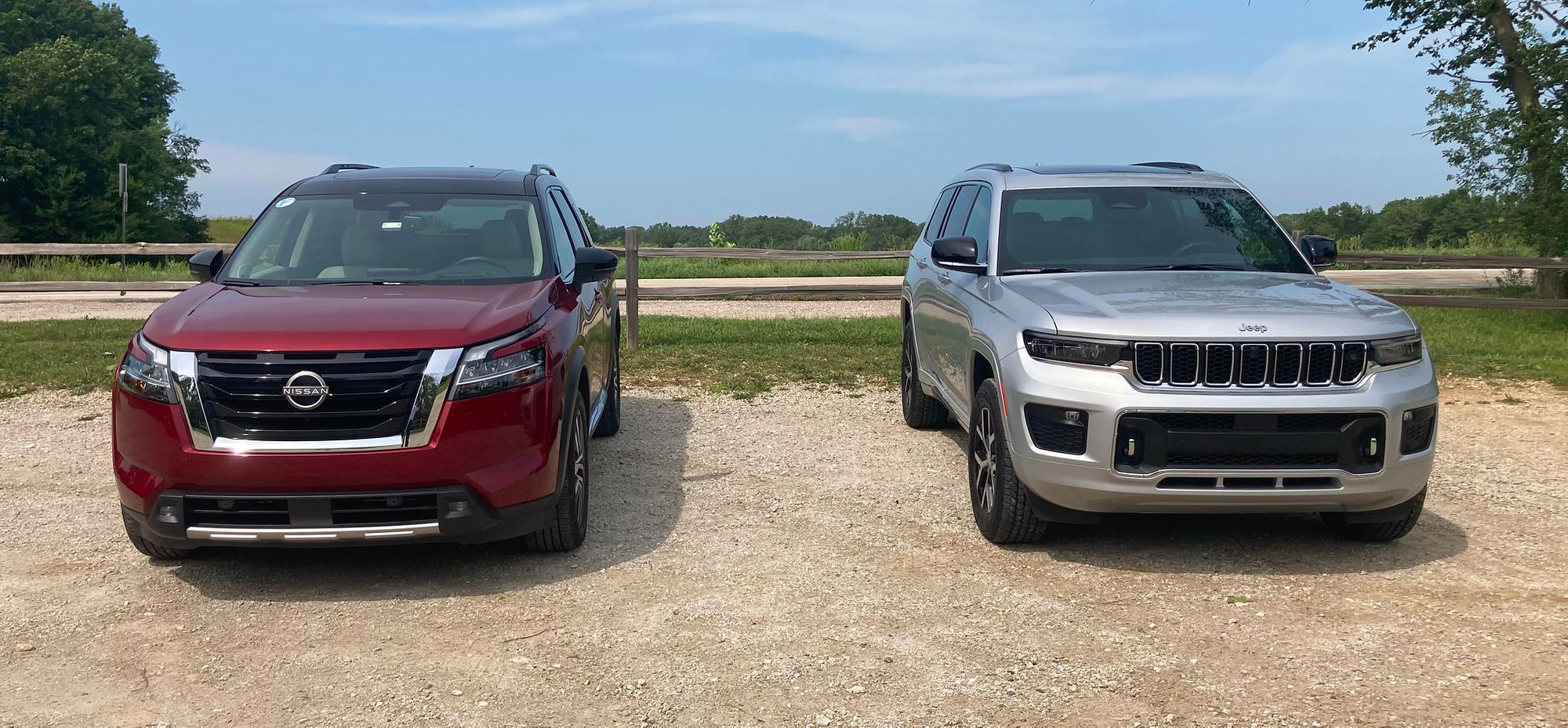 Sampling The Newest Three-Row Mid-Size SUVs: 2021 Jeep Grand Cherokee L and 2022 Nissan Pathfinder
